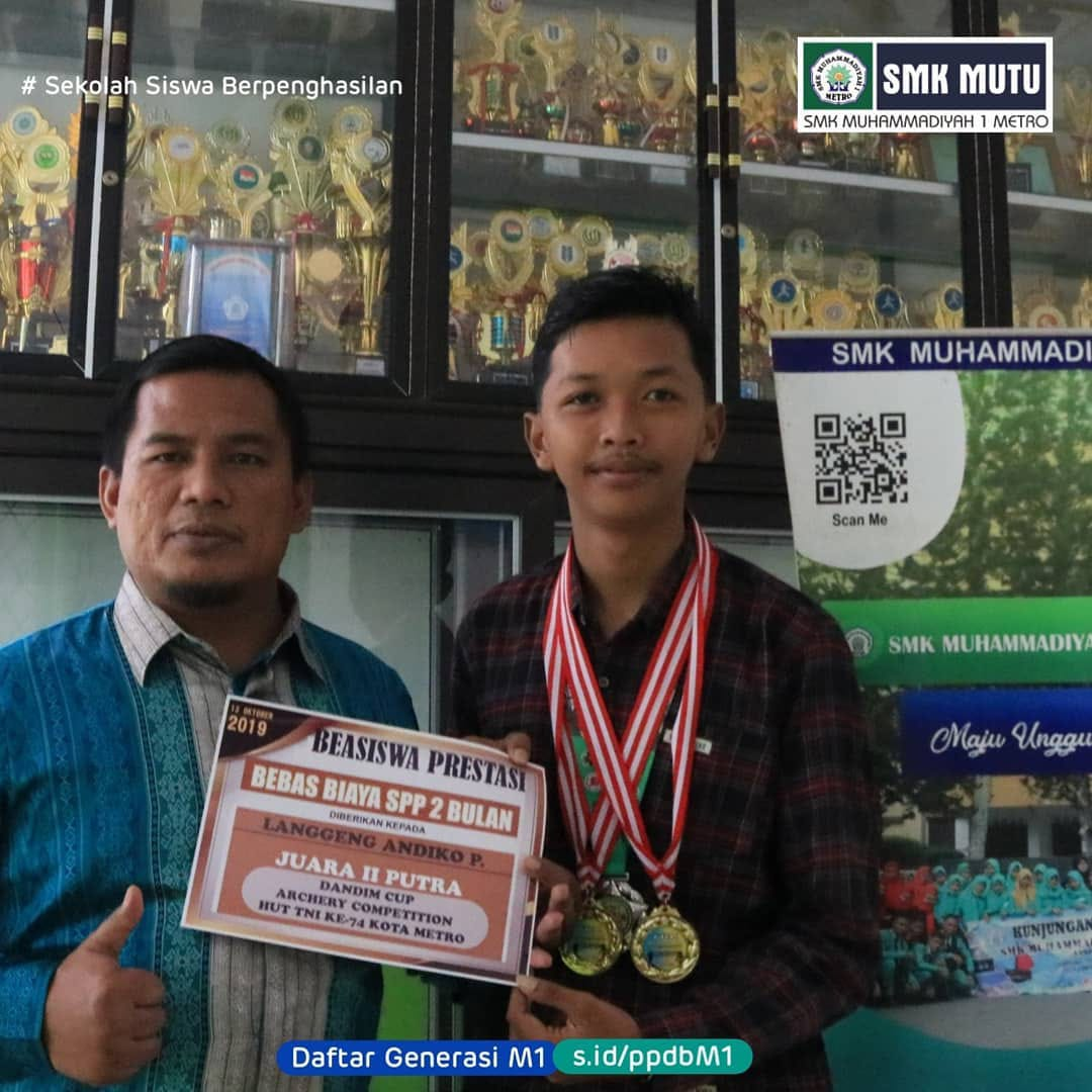 Juara II Putra Dandim Cup Archery Competition