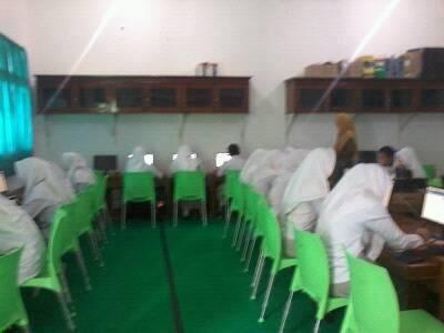 SMK Muh 1 Metro Adakan Simulasi UNBK untuk SMANO