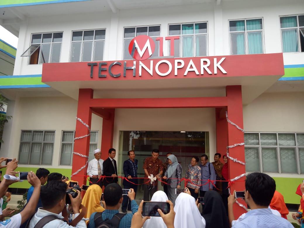 SMK Muhammadiyah 1 Metro 'Launching' Technopark Pertama di Kota Metro