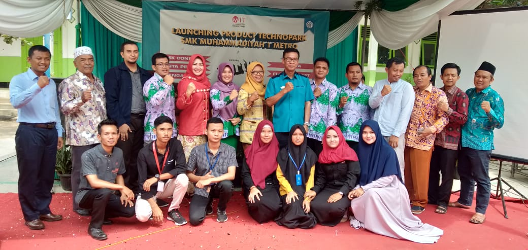 Startup Binaan Techno Park SMK Mutu Launching Product
