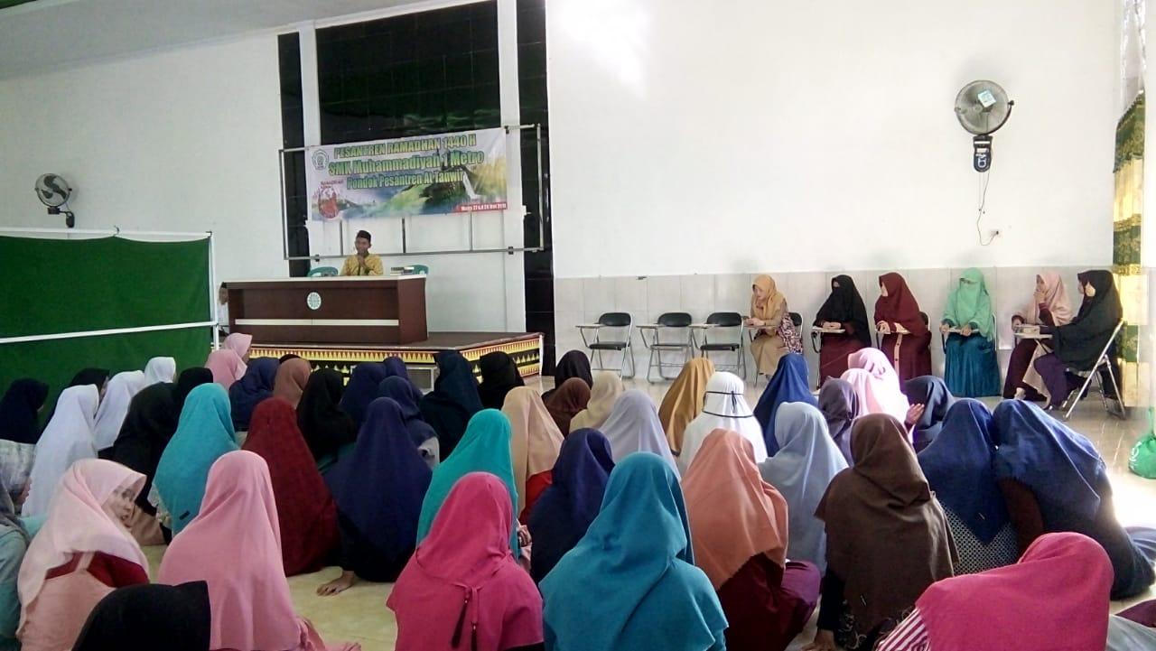 Pesantren Ramadhan 1440 H, Siswa SMK Mutu Metro Mondok di Ma'had At Tanwir