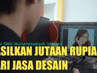 Pelajar SMK Muhammadiyah 1 Metro ini Hasilkan Jutaan Rupiah