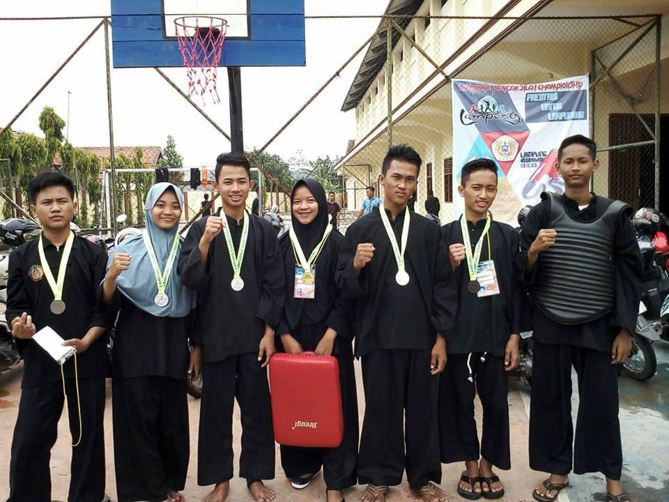 TSPM SMK Mutu Boyong Medali di Open Tournament Pencak Silat Lampung Championship 2017
