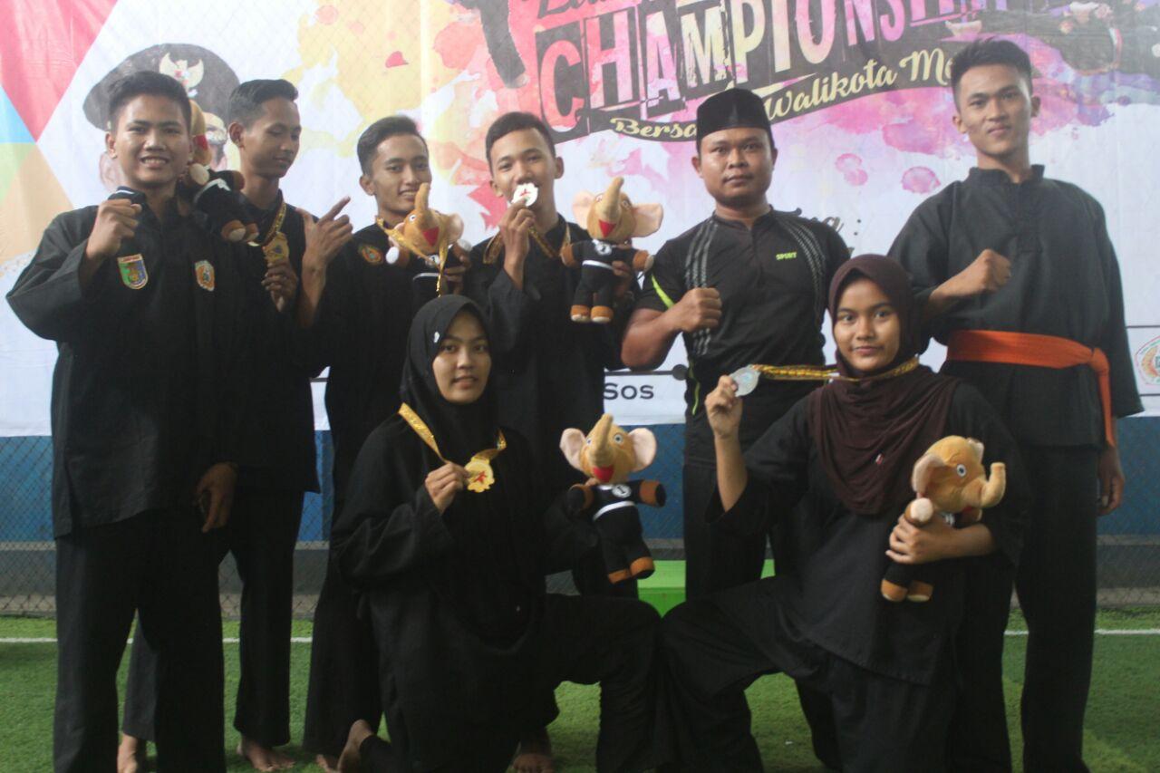 5 Pendekar 5 Medali di Lampung Championship II 2018