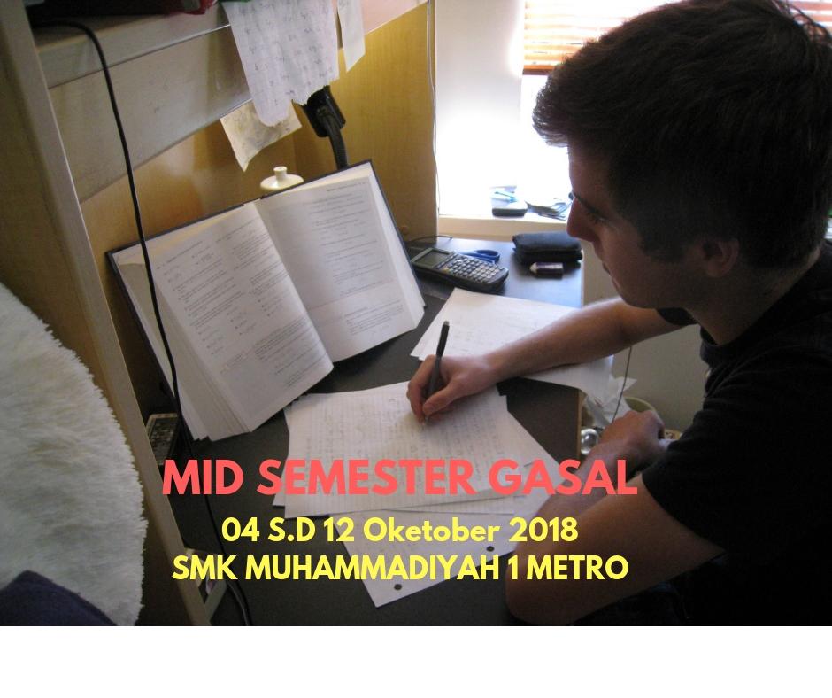 Mid Semester Gasal 2018/2019