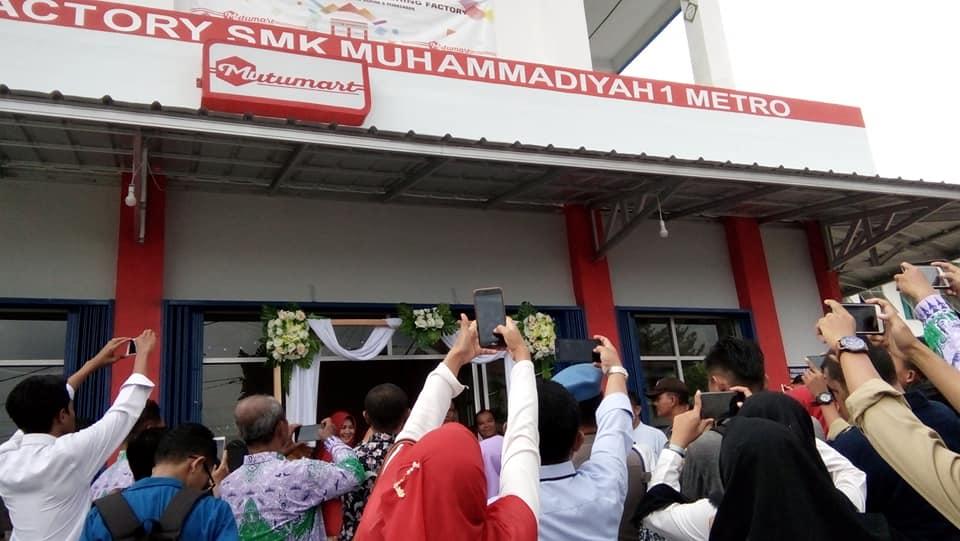 Mutumart, Minimarket Besutan SMK Mutu yang Dibuka untuk Umum