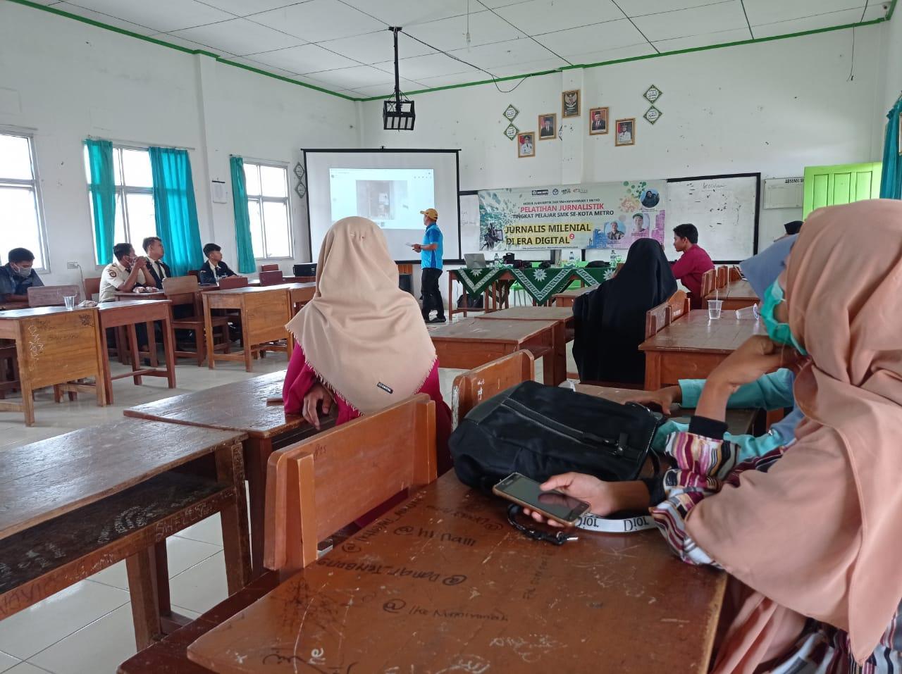 Pelatihan jurnalistik pelajar EKSIS tuai banyak liputan media online