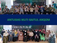 Seluruh Guru & Staf Antusias Ikuti Baitul Arqom PCM Metro Timur